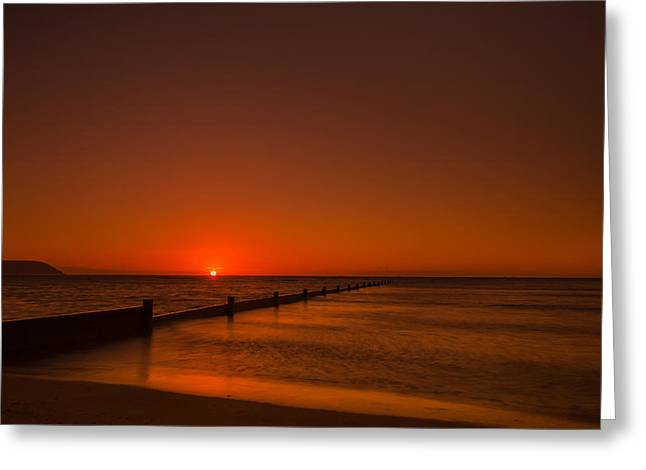 Top Seller Greeting Cards - Kahala Sunrise Greeting Card by Tin Lung Chao
