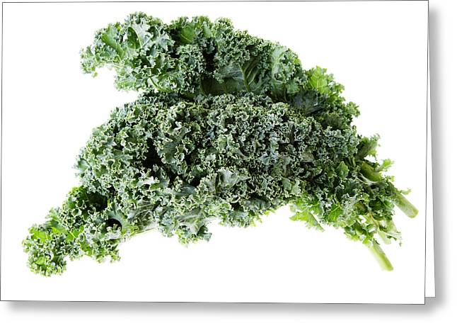 Kale Greeting Cards - Kale Greeting Card by Donald  Erickson