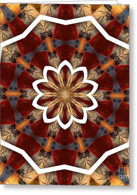 Kaleidoscope 29 Greeting Card by Lena Photo Art