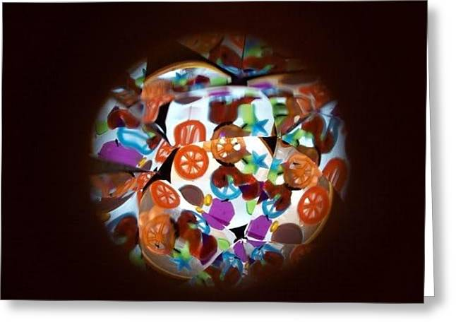 Arielle Cunnea Greeting Cards - Kaleidoscope Greeting Card by Arielle Cunnea