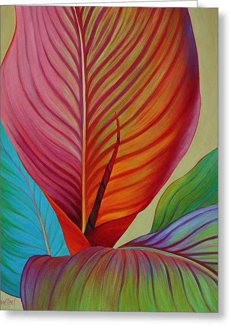 Kaleidoscope Greeting Card by Sandi Whetzel