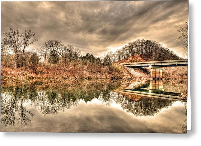 Peaceful Scene Greeting Cards - Kaleidoscope Greeting Card by William Fields