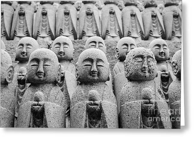 Meditative Greeting Cards - Kamakura Buddha II Greeting Card by Dean Harte