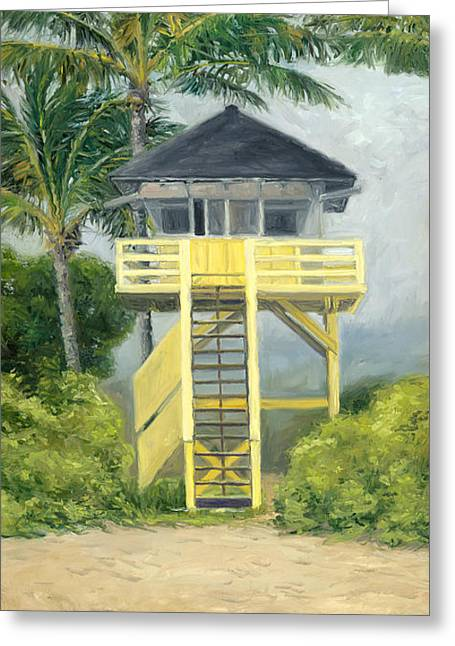 Stacy Vosberg Greeting Cards - Kamaole Beach Park Greeting Card by Stacy Vosberg