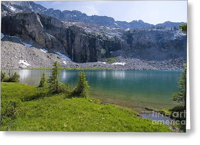 Clean Water Greeting Cards - Kane Lake, Id Greeting Card by William H. Mullins