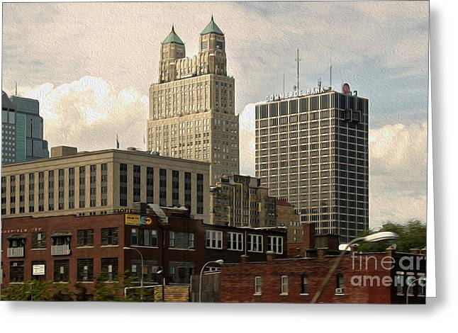Kansas City - 03 Greeting Card by Gregory Dyer