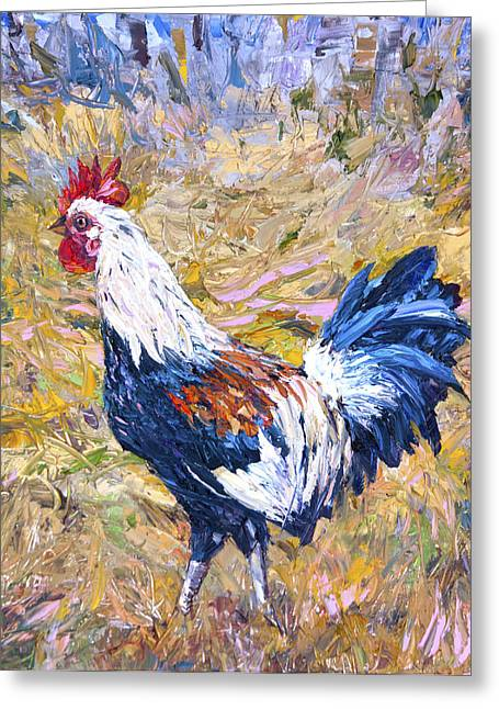 Steven Boone Greeting Cards - Kapaa Rooster Greeting Card by Steven Boone
