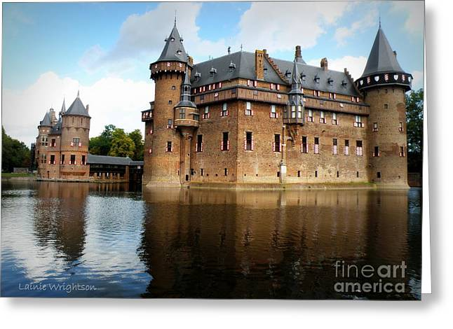 Lainie Wrightson Greeting Cards - Kasteel De Haar Greeting Card by Lainie Wrightson