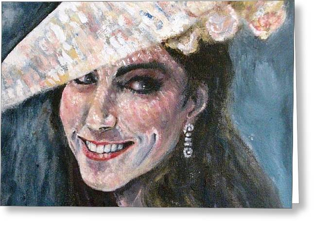 Duchess Of Winsor Greeting Card by Yvonne  Taylor