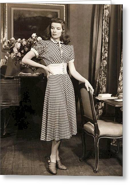 Katharine Hepburn Greeting Card by Studio Release