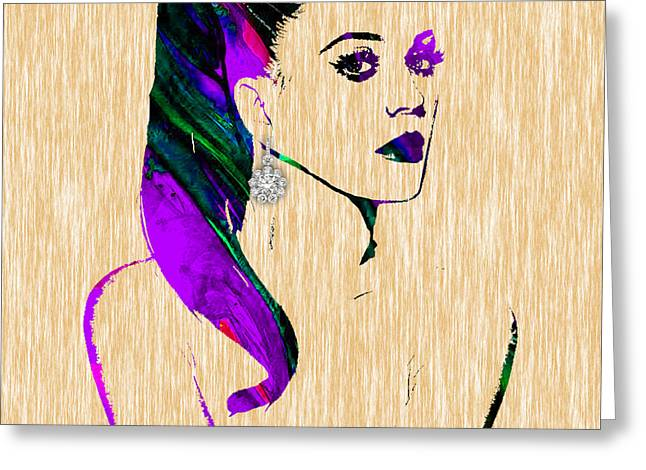 Pop Art Greeting Cards - Katty Perry Collection Greeting Card by Marvin Blaine