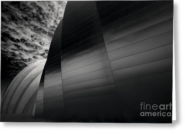 Moshe Greeting Cards - Kauffman Center Greeting Card by Dennis Hedberg