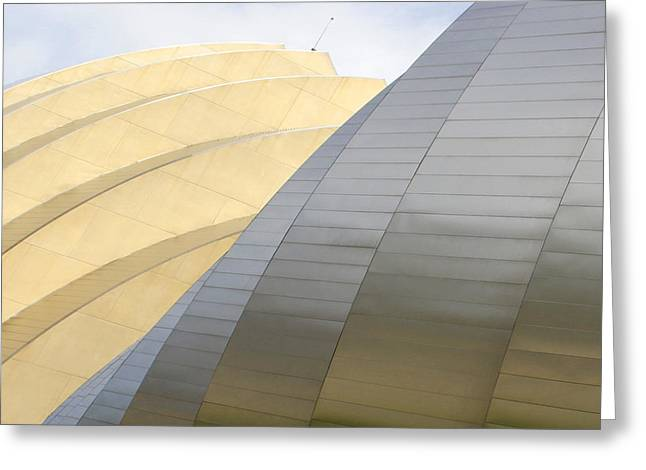 Kansas City Greeting Cards - Kauffman Center for Performing Arts Greeting Card by Mike McGlothlen