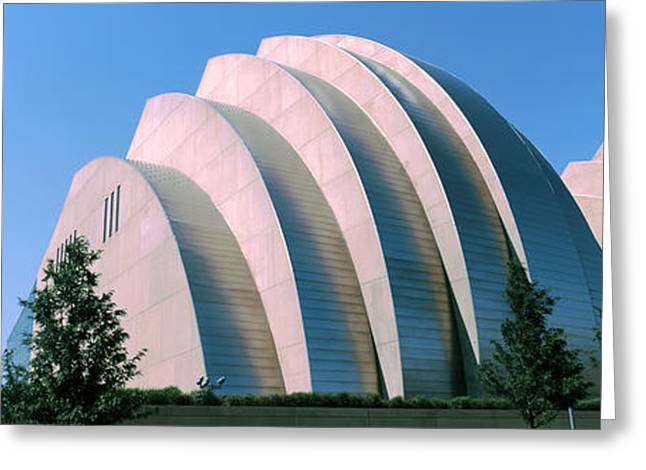 Featured Art Greeting Cards - Kauffman Center For The Performing Greeting Card by Panoramic Images