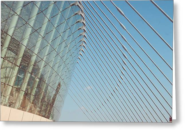 Phot Art Greeting Cards - Kauffman Performing Arts Center  Greeting Card by Angela Horn