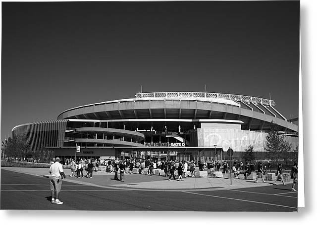 Baseball Photographs Greeting Cards - Kauffman Stadium - Kansas City Royals 2 Greeting Card by Frank Romeo