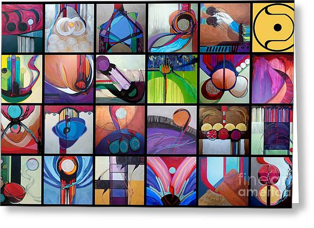 Purim Paintings Greeting Cards - Kavanah Press Collection Greeting Card by Kavanah  Press