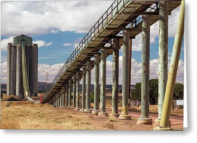 Kayenta Coal Mine Greeting Card by Jim West