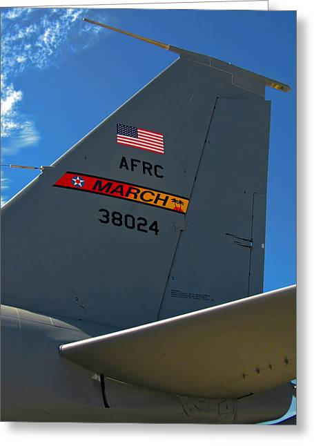 Kc Greeting Cards - Kc-135r Greeting Card by Dale Jackson