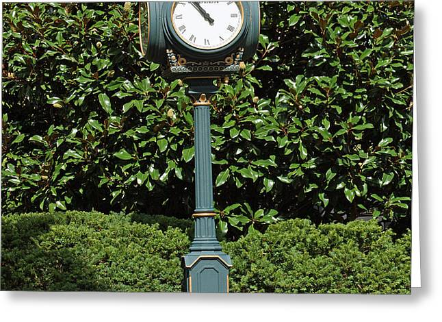 Keeneland Rolex Greeting Card by Roger Potts
