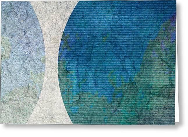 Epic Amazing Colors Landscape Digital Modern Still Life Trees Warm Natural Earth Organic Paint Chic Decor Interior Design Brett Pfister Art Digital Art Greeting Cards - Keep Me Company Greeting Card by Brett Pfister