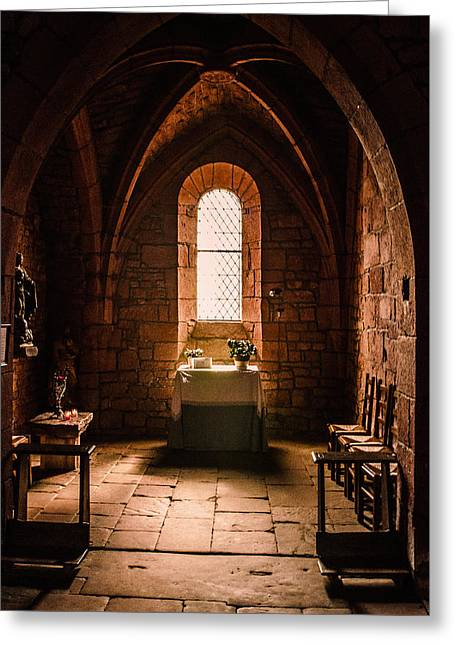 Greeting Card featuring the photograph Keep The Faith by Thierry Bouriat