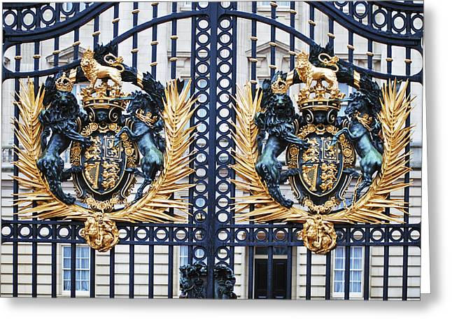 British Royalty Greeting Cards - Keepers of the Gate Greeting Card by Christi Kraft