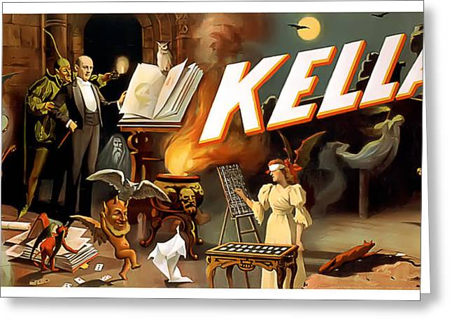 Kellar Greeting Card by Terry Reynoldson