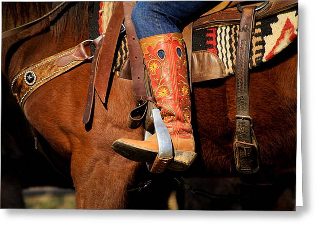 Kelly Greeting Cards - Kellys Boot Greeting Card by Nathaniel Kidd