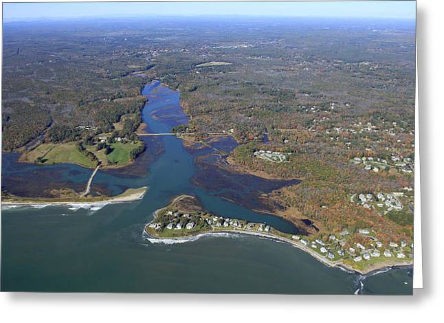 Kennebunk, Main Greeting Card by Dave Cleaveland
