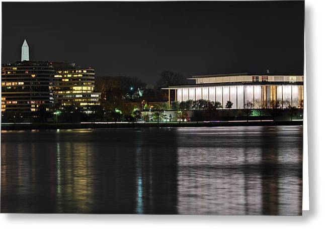 Kennery Center For The Performing Arts - Washington Dc - 01131 Greeting Card by DC Photographer