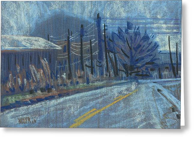 Plein Air Pastels Greeting Cards - Kennesaw View Greeting Card by Donald Maier