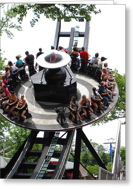 Kennywood Park Greeting Cards - Kenny Wood - 121210 Greeting Card by DC Photographer