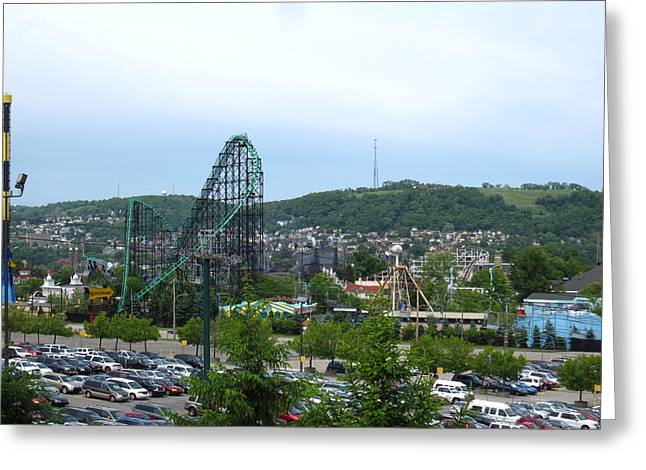 Kennywood Park Greeting Cards - Kenny Wood - 121215 Greeting Card by DC Photographer
