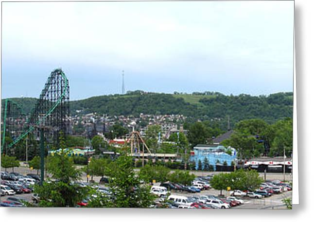 Kennywood Park Greeting Cards - Kenny Wood - 121218 Greeting Card by DC Photographer