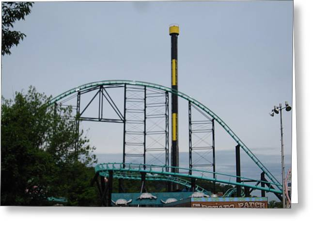 Kennywood Park Greeting Cards - Kenny Wood - 12122 Greeting Card by DC Photographer