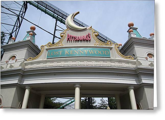 Kennywood Park Greeting Cards - Kenny Wood - 12124 Greeting Card by DC Photographer