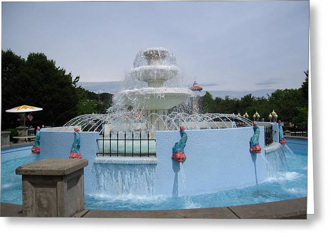Kennywood Park Greeting Cards - Kenny Wood - 12125 Greeting Card by DC Photographer