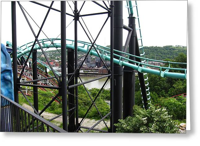 Kennywood Park Greeting Cards - Kenny Wood - 12126 Greeting Card by DC Photographer