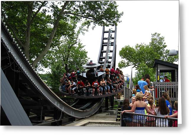 Kennywood Park Greeting Cards - Kenny Wood - 12128 Greeting Card by DC Photographer