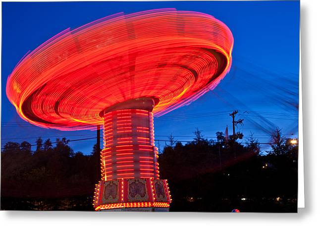 Kennywood Park Greeting Cards - Kennywood  Park Greeting Card by Richard Nowitz