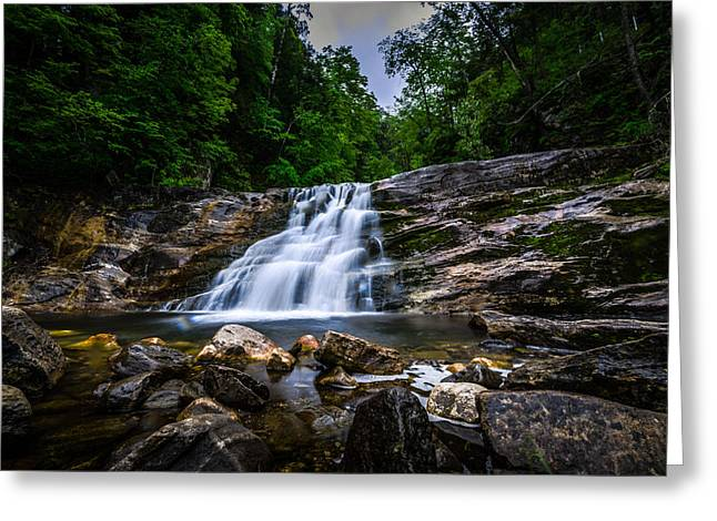 Kent Falls State Park Greeting Cards - Kent Falls 2 Greeting Card by Randy Scherkenbach