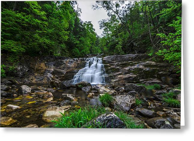 Kent Falls State Park Greeting Cards - Kent Falls 4 Greeting Card by Randy Scherkenbach