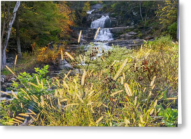 Kent Falls Greeting Card by Bill Wakeley