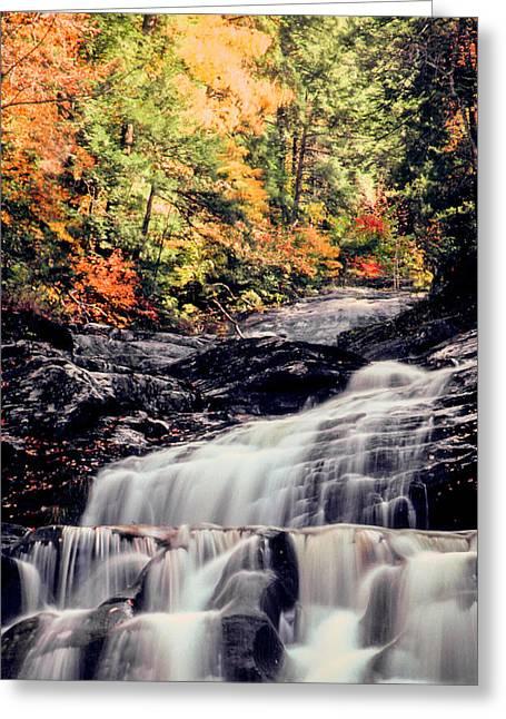 Kent Falls Greeting Cards - Kent Falls  Greeting Card by Jim DeLillo
