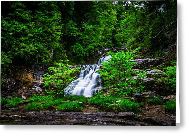 Kent Falls State Park Greeting Cards - Kent Falls Greeting Card by Randy Scherkenbach