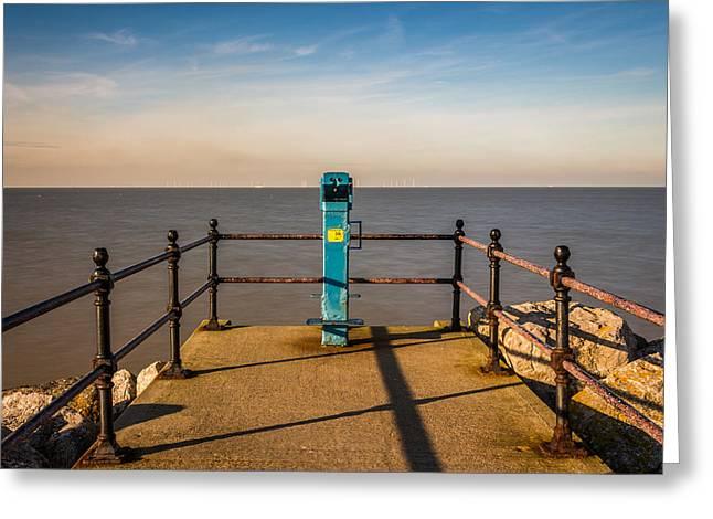 Kent Seascape Greeting Card by Ian Hufton