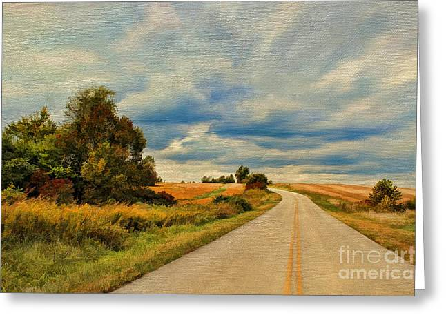 Urban Scenery Greeting Cards - Kentucky Highways Greeting Card by Darren Fisher