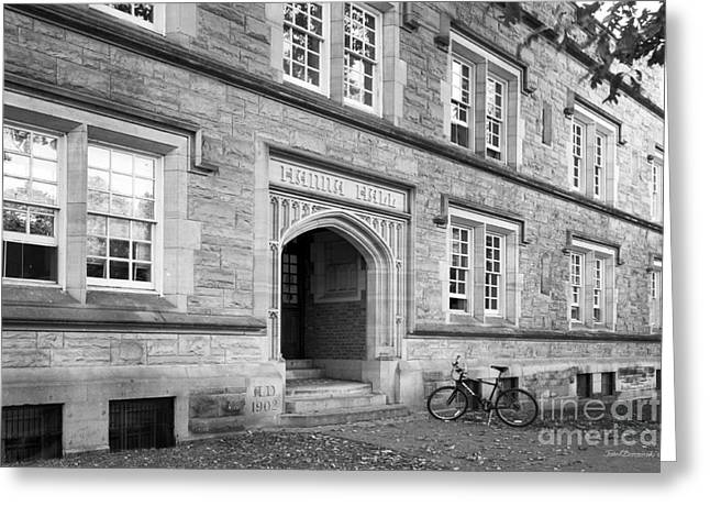 Kenyon College Hanna Hall Greeting Card by University Icons