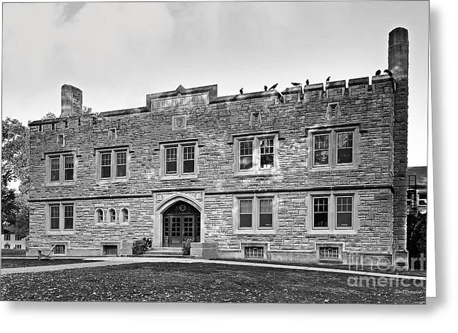 Kenyon College Ransom Hall Greeting Card by University Icons